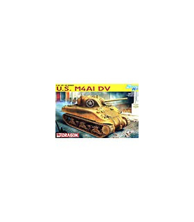 1:35 Dragon Tank Model Kits Sherman M4A1 DV Smart Kit 6404