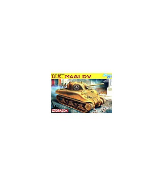 1:35 Dragon Tank Model Kits Sherman M4A1 DV Smart Kit 6404