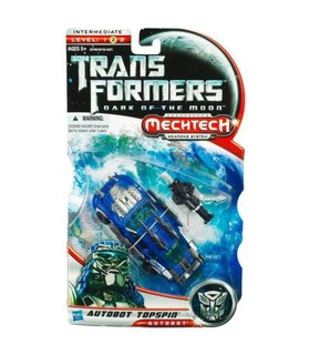 Transformers 3 Dark of the Moon Mechtech Deluxe Autobot Topspin
