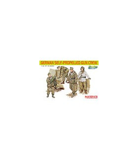 1:35 Dragon German Self-Propelled Gun Crew 6530
