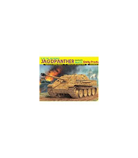 1:35 Dragon Jagdpanther Ausf.G1 Early Production Smart Kit 6458