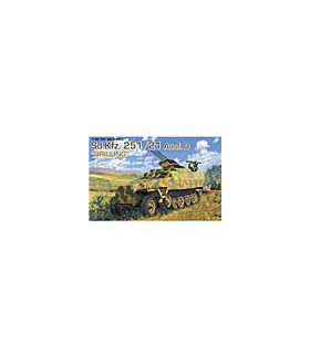 1:35 Dragon Tank Model Kits SdKfz 251/21 Ausf D 6217