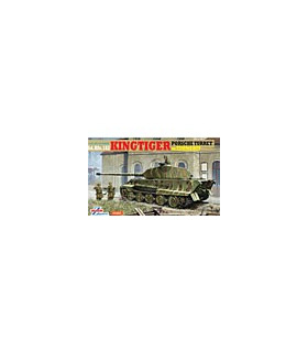 1:35 Dragon King Tiger Porsche Turret w/Zimmerit 6302 [SOLD OUT]