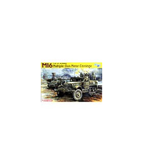 1:35 Dragon M16 Multiple Gun Motor Carriage Smart Kit 6381