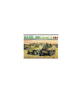 1:35 Dragon Tank Model Kits SdKfz 251 Ausf D 3 in 1 6233