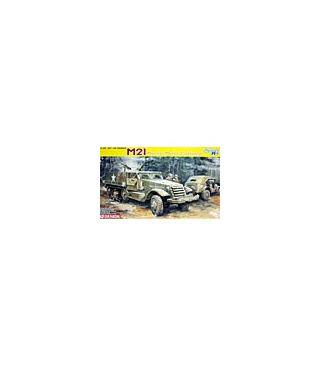 1:35 Dragon M21 Mortar Motor Carriage Smart Kit 6362