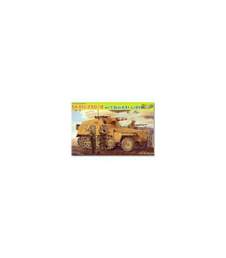 1:35 Dragon SdKfz 250/8 NEU 7.5cm K.51 L/24 Gun 6425
