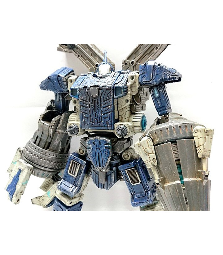 Transformers Planet X PX-01B Gammadim Battle Damaged Version