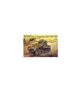 1:35 Dragon M4 Sherman Composite Hull PTO 6441