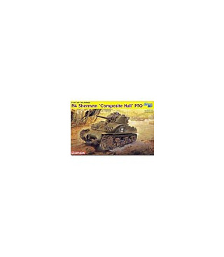 1:35 Dragon M4 Sherman Composite Hull PTO 6441