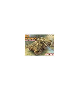 1:35 Dragon Tank Model Kits M4 Sherman 75mm Normandy 6511