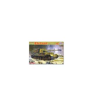 1:35 Dragon Tank Model Kits SdKfz 184 Elefant w/Zimmerit 6465