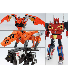 Takara Tomy Transfomers Masterpiece Mp-15e/16e Cassettebot Vs. Cassettron Exclusive