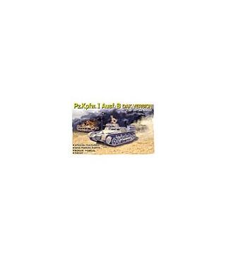 1:35 Dragon Panzer PzKpfw I Ausf B DAK Version 6207
