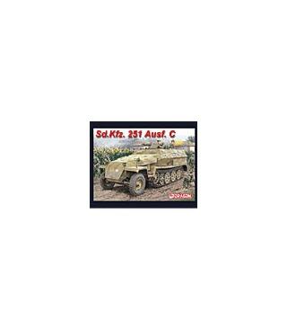 1:35 Dragon Tank Model Kits Sd Kfz 251 Ausf C Half Track 6187