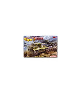 1:35 Dragon PzKpfw VI Tiger I Late Production (3 in 1) 6406