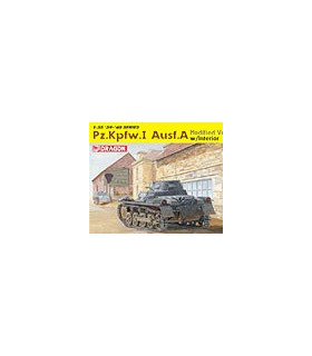1:35 Dragon PzKpfw Panzer I Ausf.A Modified Ver 6356