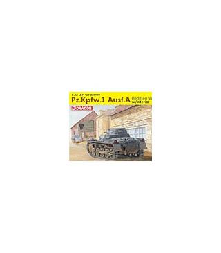 1:35 Dragon PzKpfw Panzer I Ausf.A Modified Ver 6356