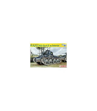 1:35 Dragon PzKpfw 38(t) Ausf.G w/Interior 6290 [SOLD OUT]