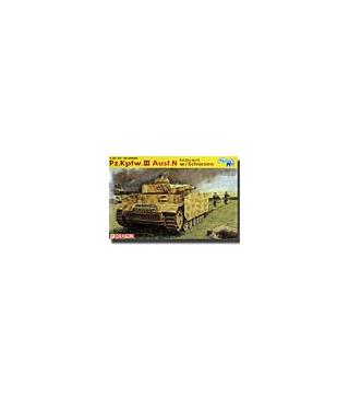 1:35 Dragon Pz.Kpfw. III Ausf. N w/Schürzen ~ Smart Kit 6474