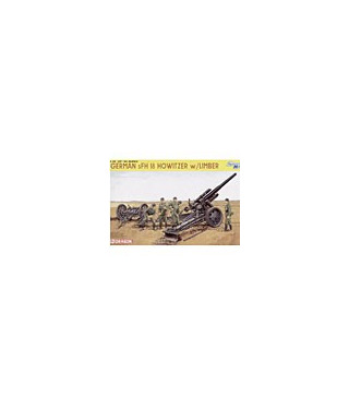 1:35 Dragon German sFH 18 Howitzer w/Limber 6392