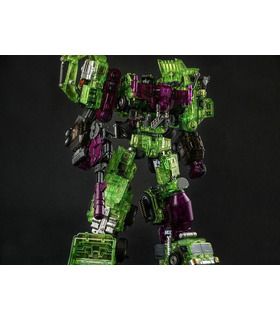 Transformers Generation Toy Gravity Builder GT-01GS Green Shadow Set of 6 Figures