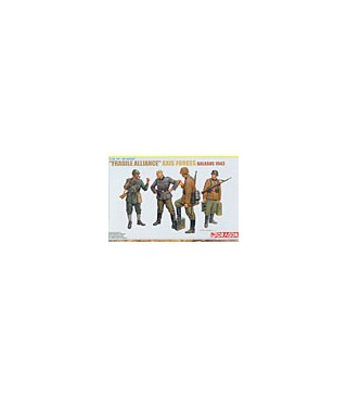 1:35 Dragon Fragile Alliance Axis Forces Balkan 1943 6563