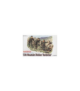 1:35 Dragon 10th Mountain Division Handschar Figure Set 6067