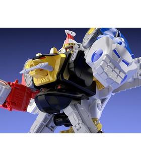Transformers Mighty Morphin Alien Rangers Super Mini Pla Ninja Megazord & White Ninja Falconzord