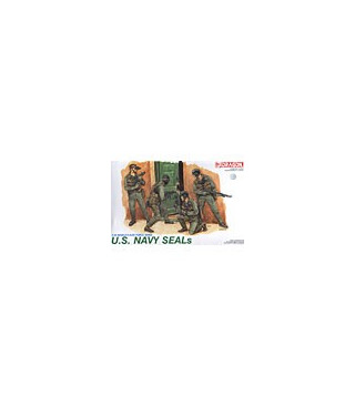 1:35 Dragon Military Model Kit US Navy SEALS Figures Set 3017