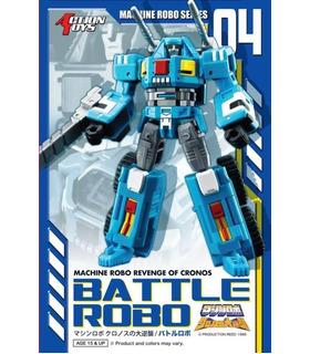 Transformers Action Toys Machine Robo MR-04 Battle Robo