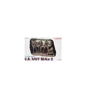 1:35 Dragon Military Model Kit US Navy Seals II Figures Set 3316