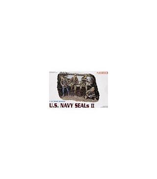 1:35 Dragon Military Model Kit US Navy Seals II Figures Set 3316