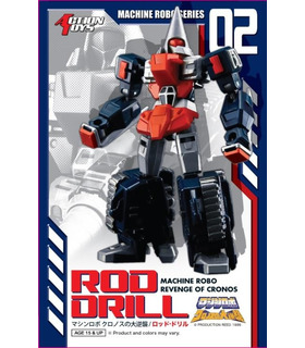 Transformers Action Toys Machine Robo MR-02 Rod Drill