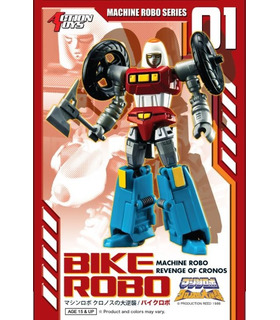 Transformers Action Toys Machine Robo MR-01 Bike Mode