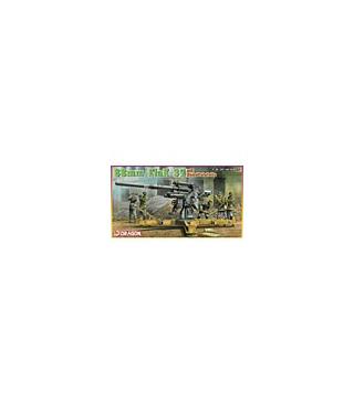 1:35 Dragon 8.8cm FlaK 37 mit Behelfslafette 6523