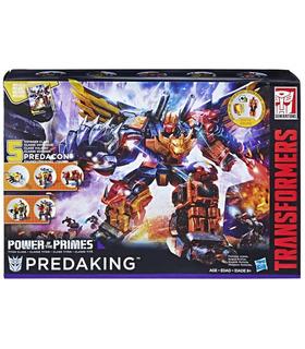 Hasbro Transformers Power of the Primes Predaking set of 5