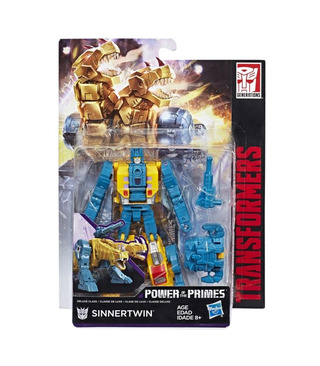 Hasbro Transformers Power of the Primes Deluxe Sinnertwin