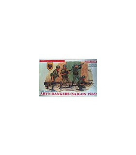 1:35 Dragon Military Model Kit ARVN Rangers Saigon 1968 3314
