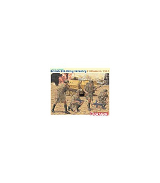 1:35 Dragon British 8th Army Infantry El Alamein 1942 6390