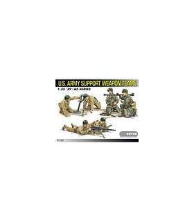 1:35 Dragon US Army Support Weapon Teams 6198
