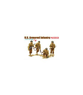1:35 Dragon US Armored Infantry (4 Figures Set) Gen 2 6366