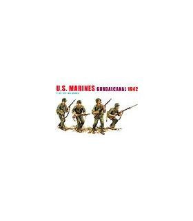 1:35 Dragon US Marines Guadacanal 1942 (4 Figures set) 6379