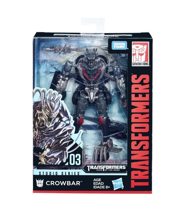 Hasbro Transformers Studio Series 03 Movie 3 Deluxe Class Crowbar