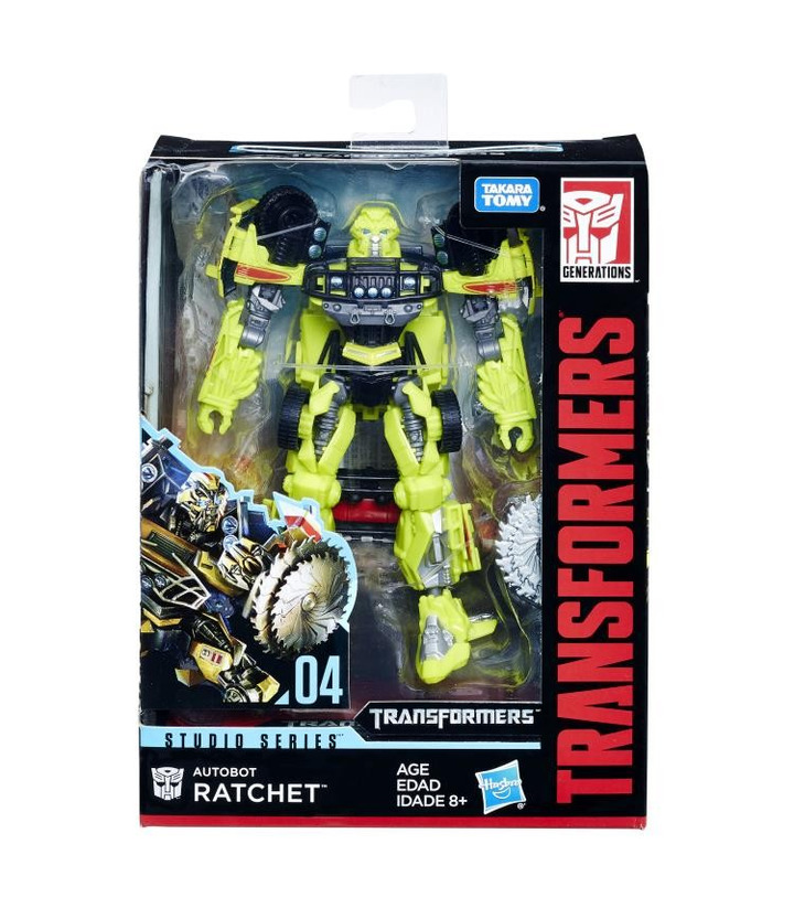 Hasbro Transformers Studio Series 04 Movie 1 Deluxe Class Ratchet