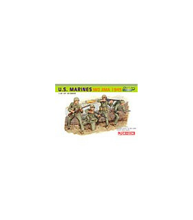 1:35 Dragon US Marines Iwo Jima 1945 (Four Figures Set) 6408