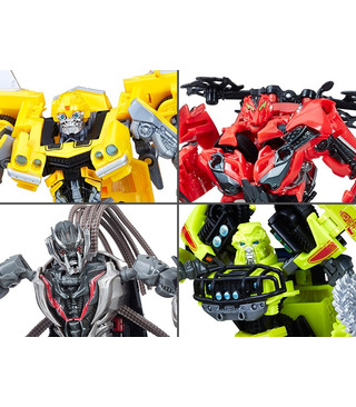 Hasbro Transformers Studio Series Deluxe Wave 1 Set of 4