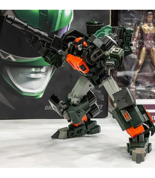 Transformers Mastermind Creations Ocular Max R-34 Cylindrus