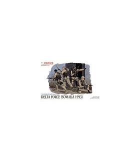 1:35 Dragon Military Model Kit Delta Force Somalia 1993 3022