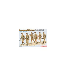 1:35 Dragon Commonwealth Infantry Italy 1943-44 6380